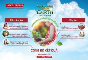 """CÔNG BỐ KẾT QUẢ CUỘC THI """"PLANT A TREE, SAVE THE EARTH – KHƠI XANH TRÁI ĐẤT TỪ NHỮNG MẦM CÂY"""""""