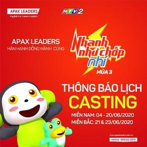 CÙNG APAX LEADERS CASTING NHANH NHƯ CHỚP NHÍ MÙA 3