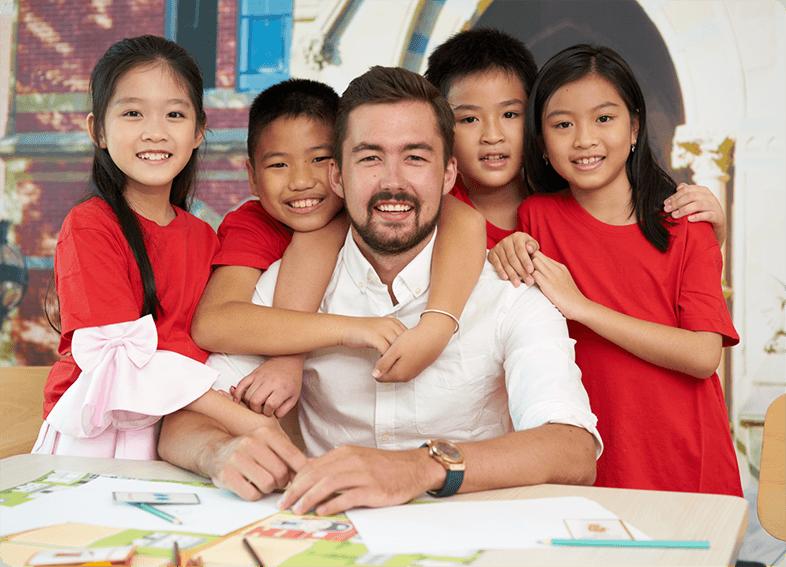Trở thành đơn vị cung cấp dịch vụ giáo dục Anh ngữ uy tín hàng đầu tại Việt Nam.