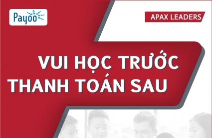 Apax Leaders giúp ba mẹ nhẹ gánh lo học phí
