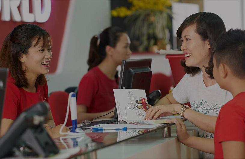 Đăng ký học thử và kiểm tra trình độ miễn phí tại Trung tâm