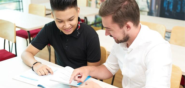 """Tích hợp chương trình giáo dục hàng đầu của Tổ chức Franklin Covey (Mỹ) ứng dụng quy trình """"7 thói quen thành công"""", dạy cho trẻ các kỹ năng hướng tới thay đổi tư duy toàn diện từ bên trong, hình thành các thói quen tốt, phát huy tiềm năng và xây dựng tinh thần lãnh đạo bản thân."""