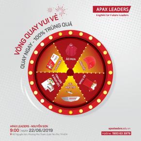 XIN CHÀO TRUNG TÂM THỨ 40 TẠI MIỀN NAM – APAX LEADERS NGUYỄN SƠN