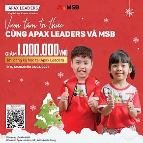 VƯƠN TẦM TRI THỨC CÙNG APAX LEADERS & MSB