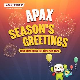 MÙA LỄ HỘI NGẬP TRÀN NIỀM VUI CÙNG APAX SEASON'S GREETINGS