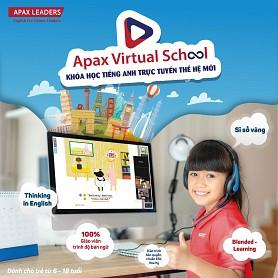 Apax Virtual School - Khóa học tiếng Anh trực tuyến thế hệ mới