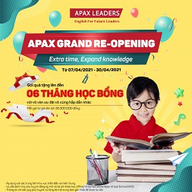 APAX GRAND RE-OPENING -  Extra time, Expand knowledge