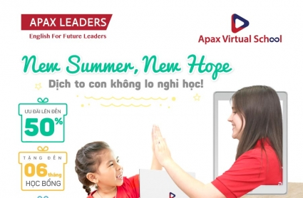 NEW SUMMER, NEW HOPE - Dịch to con không lo nghỉ học