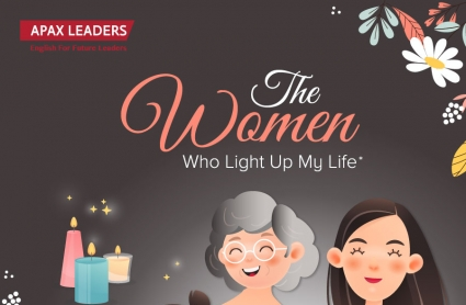 THE WOMEN WHO LIGHT UP MY LIFE
