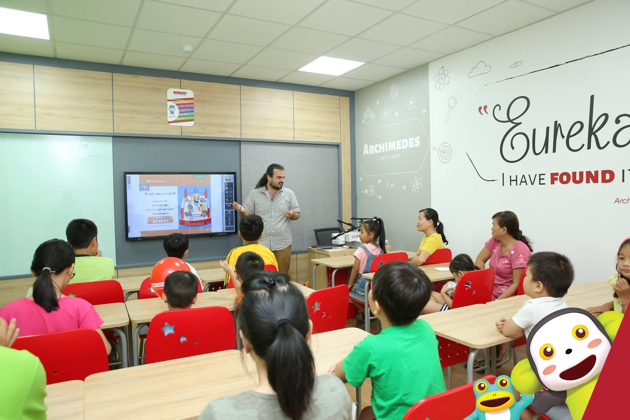 Tiếng Anh trẻ em hàng đầu Việt Nam.
